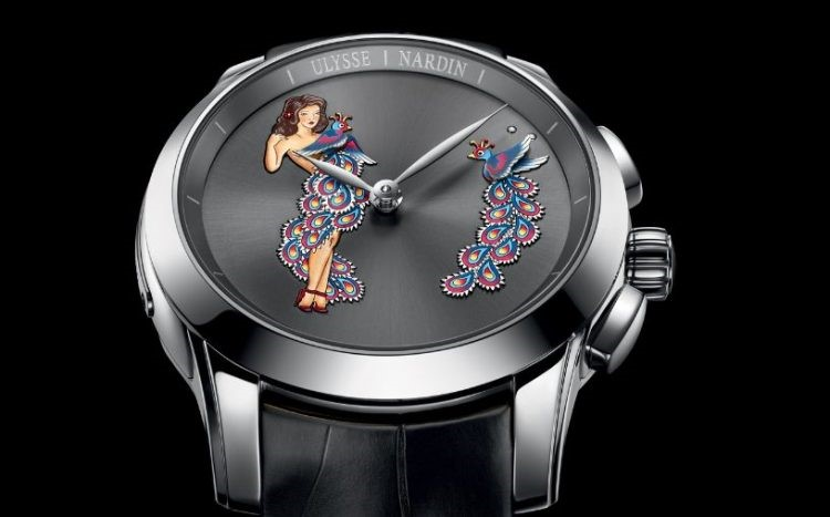 Ulysee Nardin's Hourstriker Pin up Dial