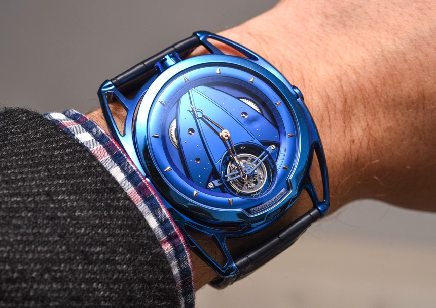 "Đồng hồ DB4T Tourbillon ""Kind of Blue"""