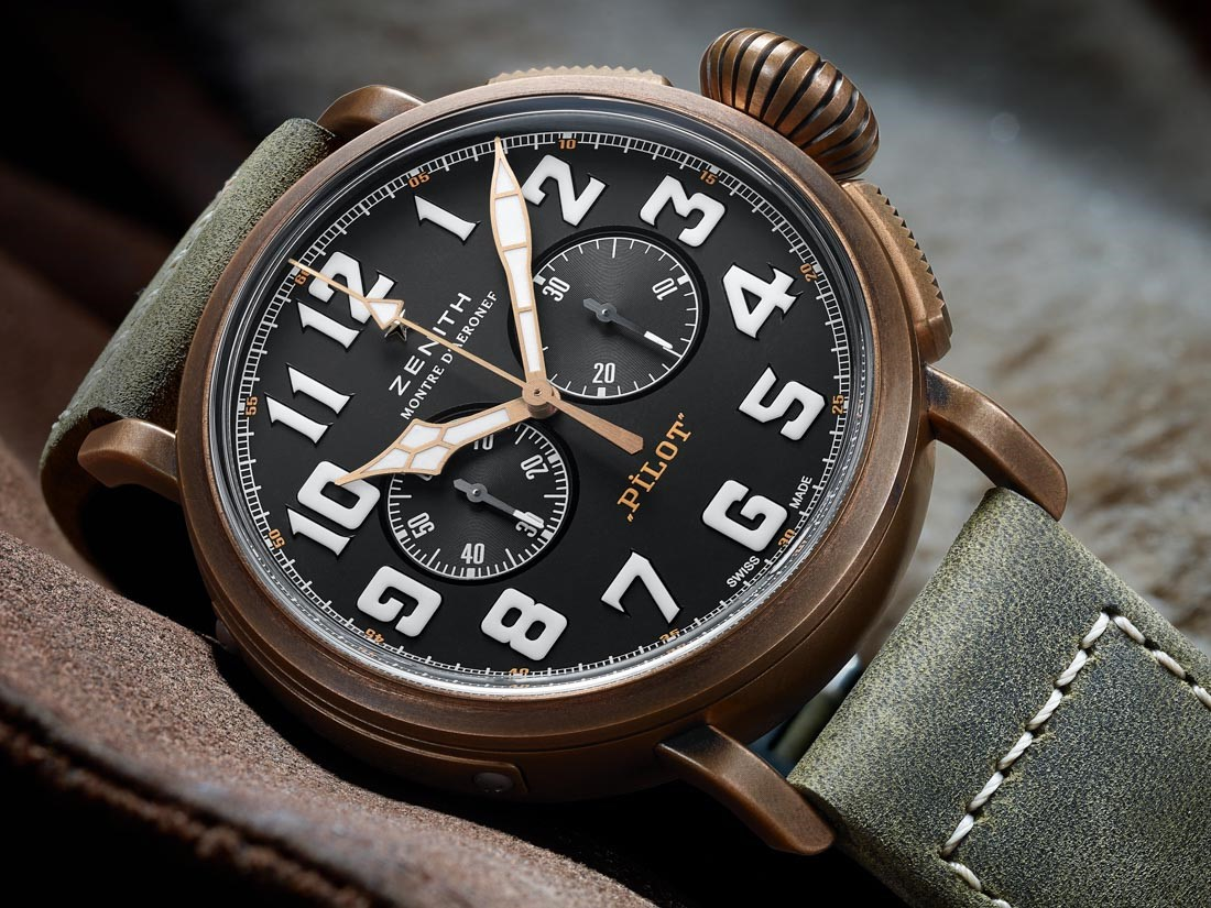 Zenith Heritage Pilot Extra Special Chronograph