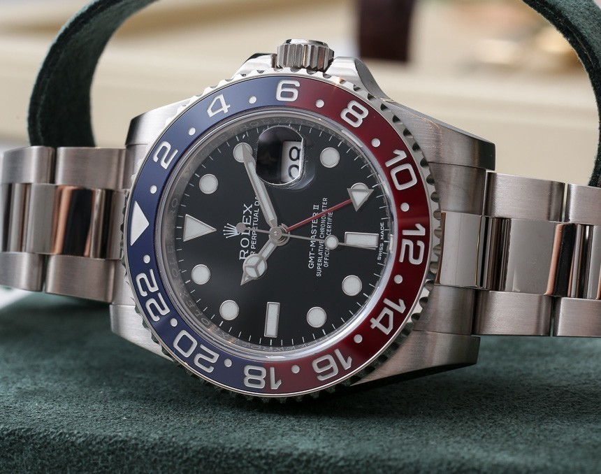 Rolex GMT-Master II 116719 BLRO Watch With Red & Blue Ceramic