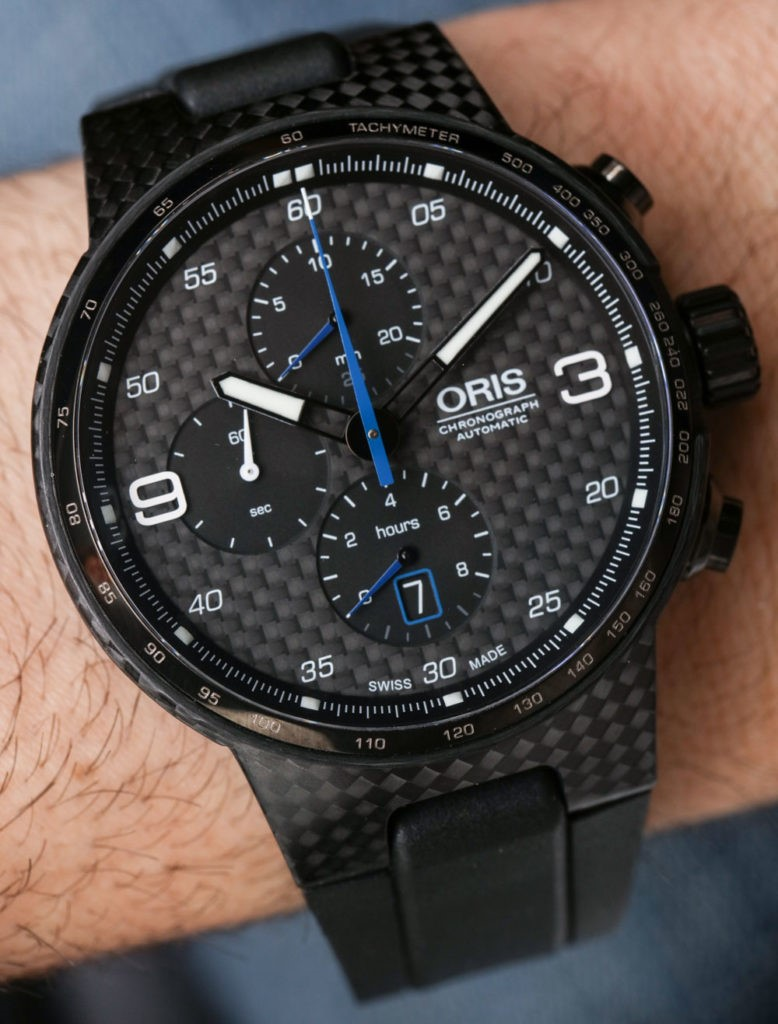 Đồng Hồ Oris Williams Chronograph Carbon Valtteri Bottas