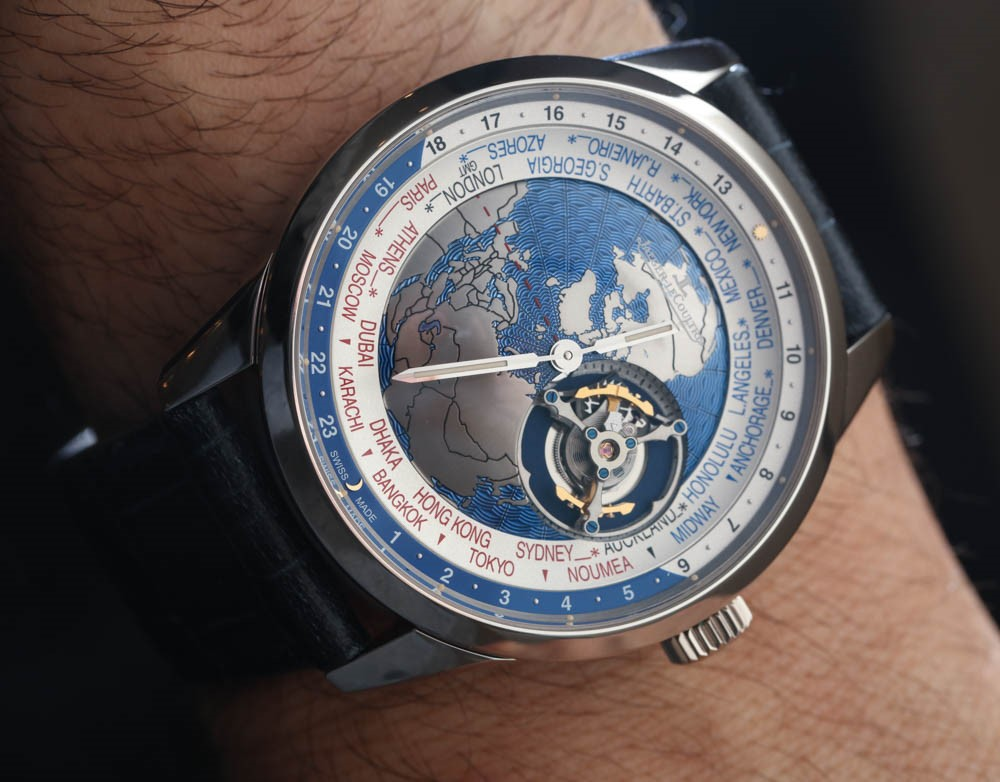 Đồng hồ đeo tay Jaeger-LeCoultre Geophysic Universal Time Tourbillon