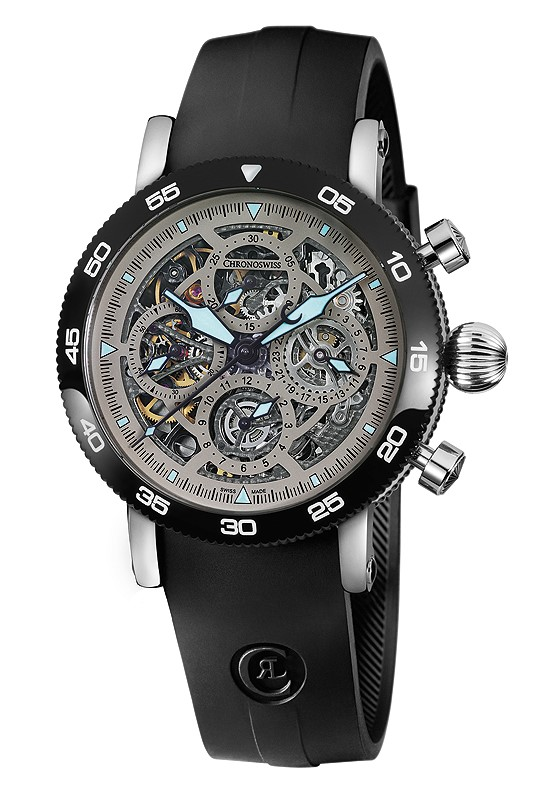 Chronoswiss Timemaster Chronograph Skeleton