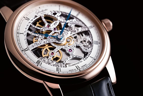 Glashütte Original Senator Manual Winding Skeletonized Edition