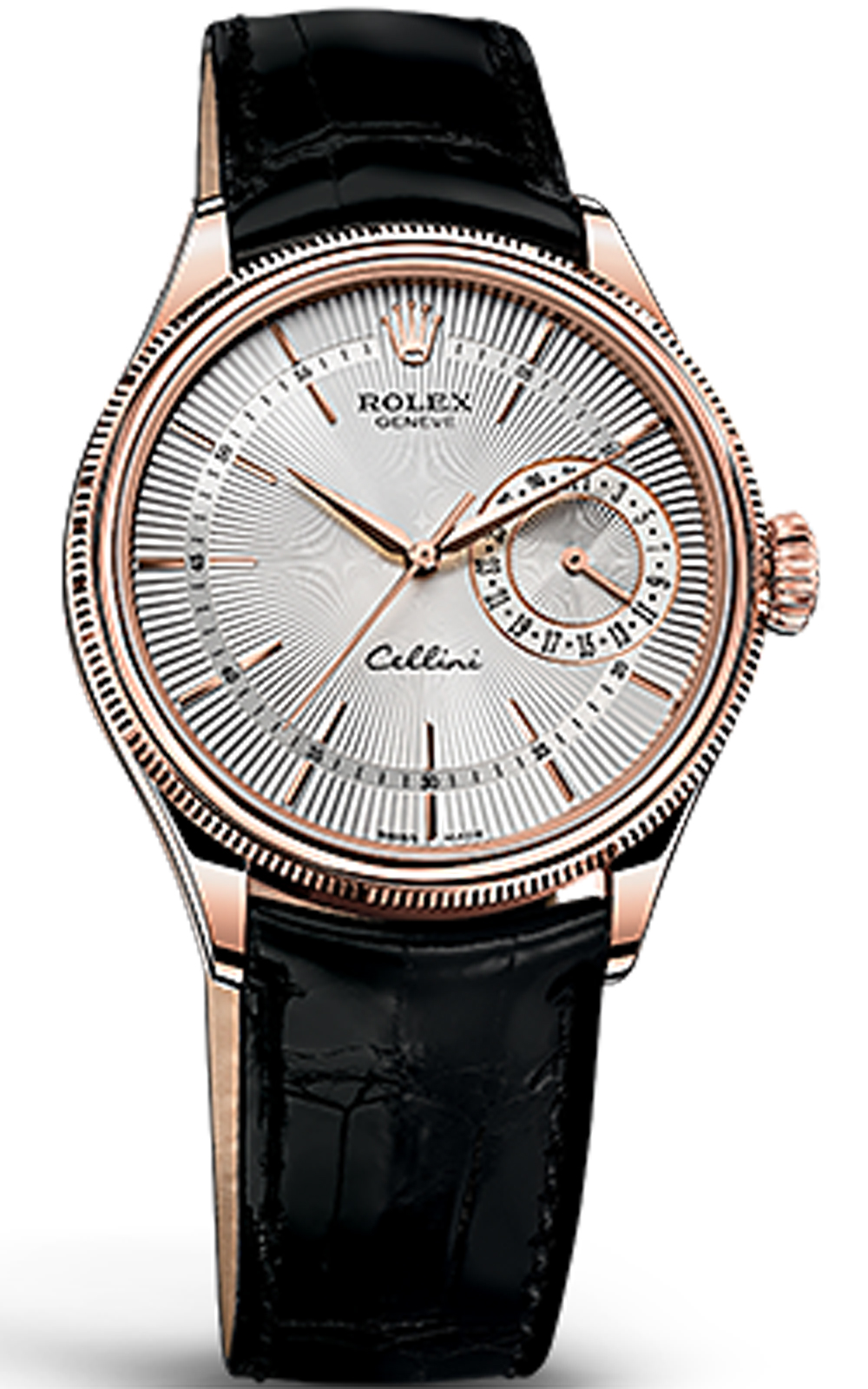 Mẫu Rolex cellini date 18 ct everose gold, polished finish 50515-0009, 39mm