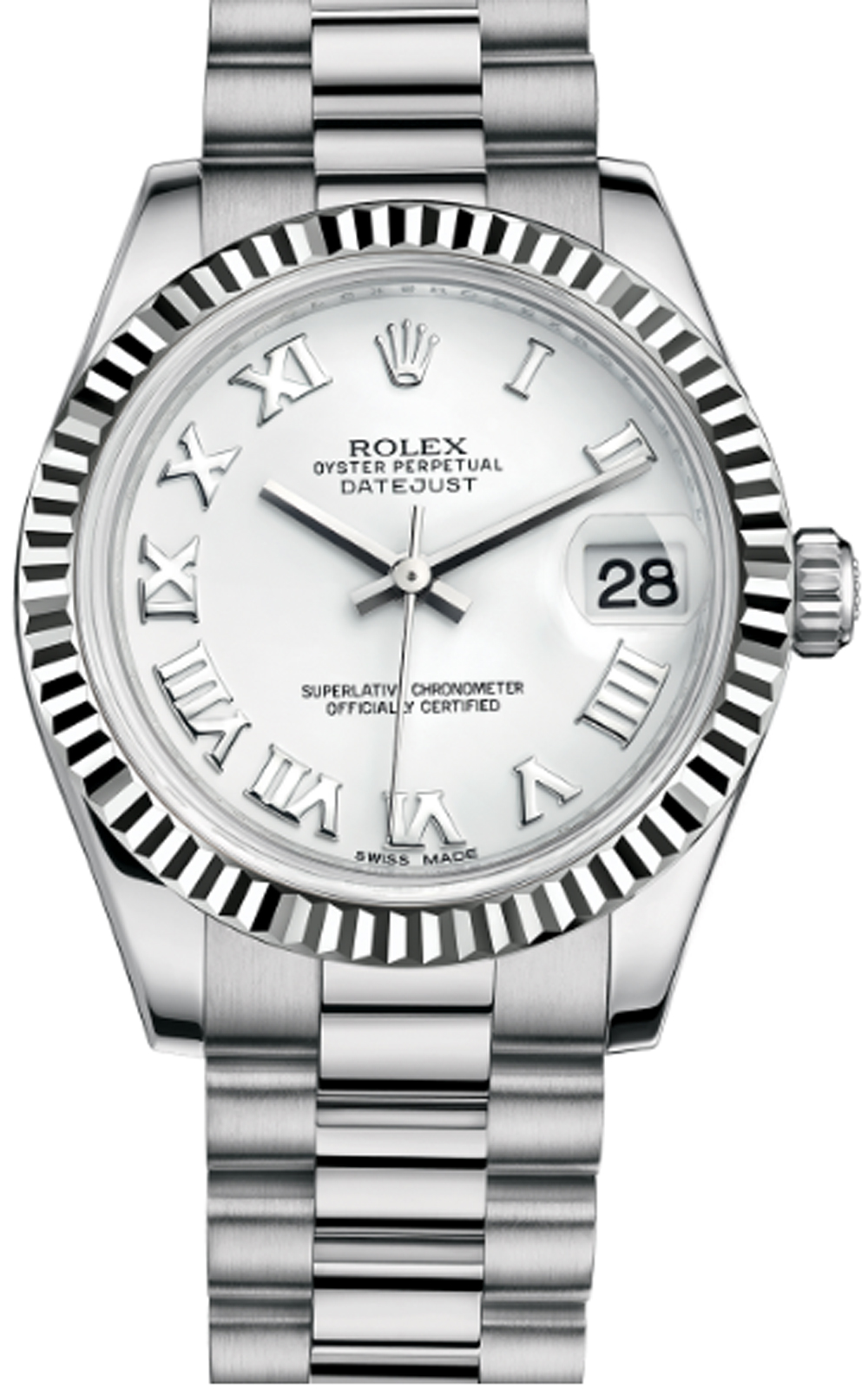 Đồng hồ Rolex Lady-datejust white gold 178279-0067, 31mm