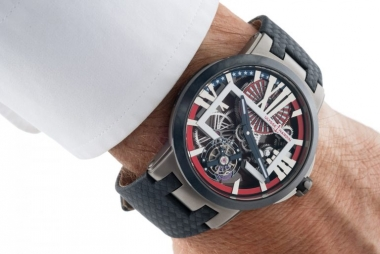 "Ulysse Nardin Executive Skeleton Tourbillon ""Stars and Stripes"" 