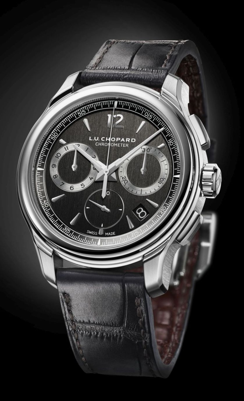 L.U.C Chrono One Flyback Steel