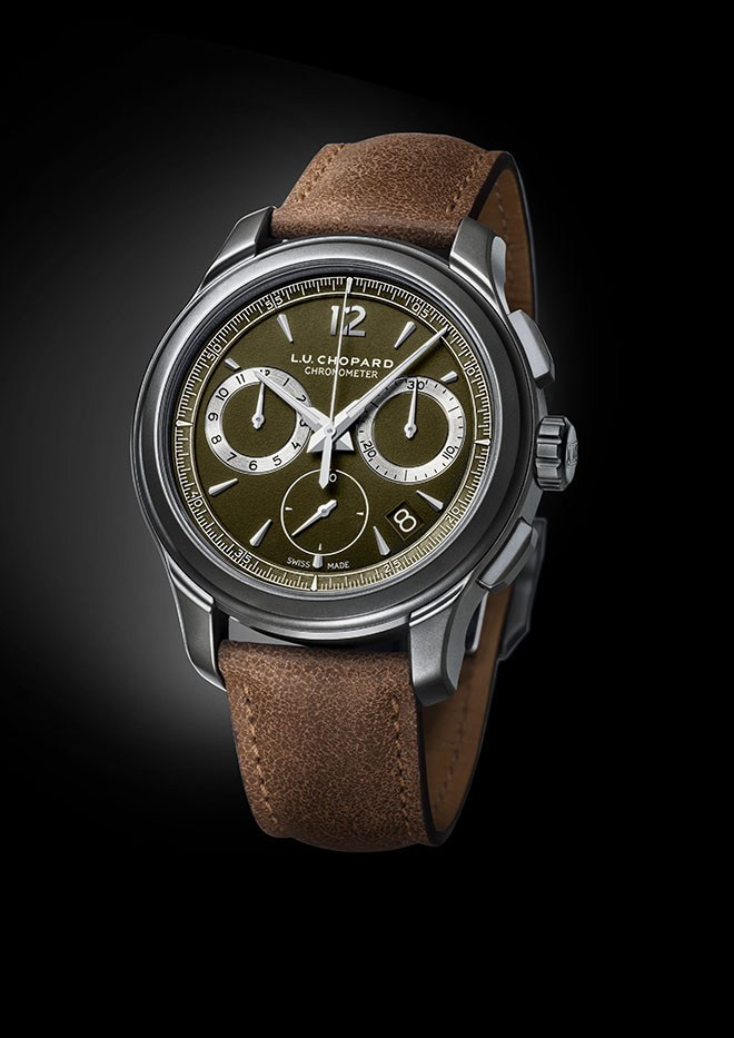 L.U.C Chrono One Flyback Khaki