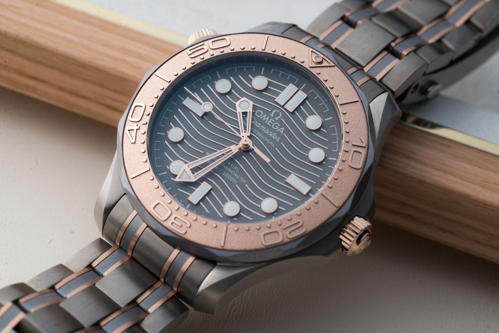 Proprietary Gold Alloys From Top Watchmakers: Omega Sedna