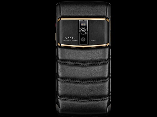 Điện thoại Vertu Signature Touch Pure Jet Red Gold