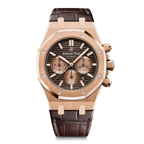 Mẫu đồng hồ Royal Oak Chronograph Brown 26331OR.OO.D821CR.01, 41mm