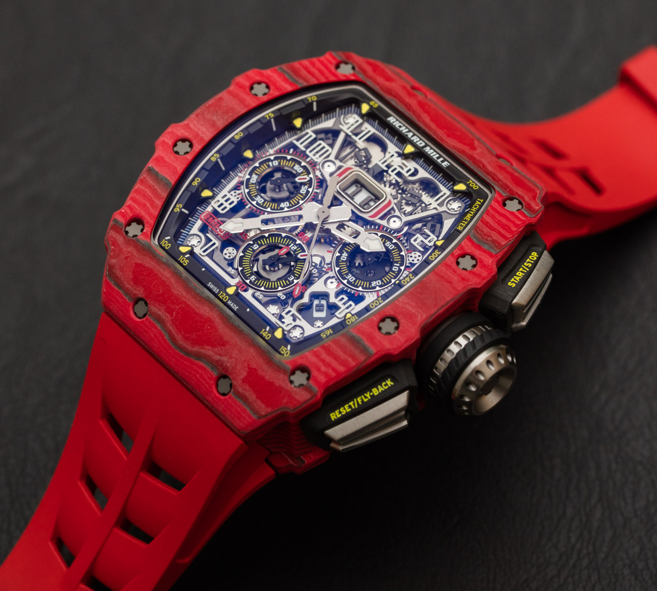Richard Mille RM 11-03 Automatic Flyback Chronograph Red Quartz FQ TPT